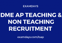 dme ap teaching jobs