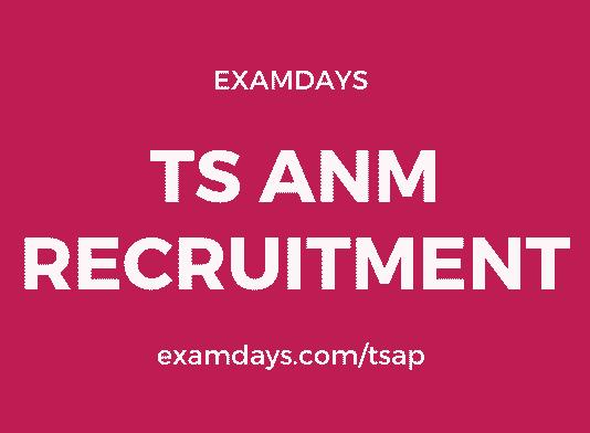 ts anm recruitment
