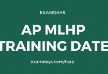 ap mlhp training date