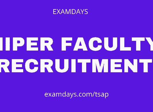 niper faculty recruitment