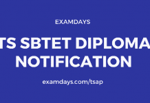 ts sbtet diploma notification