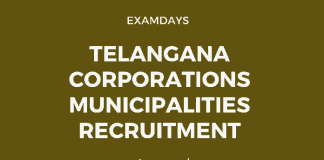 Telangana Corporations Municipalities Recruitment