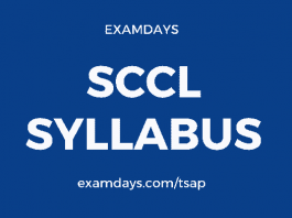 sccl syllabus