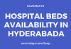 Hospital Beds Availability in Hyderabad