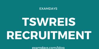 tswreis recruitment