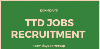 ap ttd recruitment